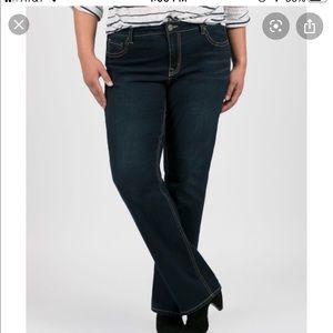 Lane Bryant Genius Fit Boot Cut Jeans